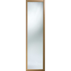 "Shaker Sliding Wardrobe Door 610mm (24"") Windsor Oak Mirror Door"